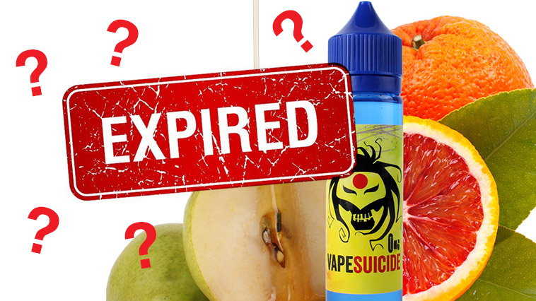What is the shelf life of vape juice